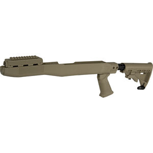 TAPCO Intrafuse T6 SKS Stock System Collapsible Stock/Pistol Grip/Picatinny Rail Upper Hand Guard Spike Bayonet Cut Polymer Flat Dark Earth