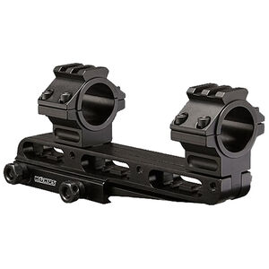 """Konus Cantilever Universal Scope Mount 1""""/ 30mm Rings Adjustable Height and Length Black"""