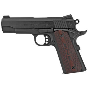 "Colt Combat Commander 1911 .45 ACP Semi Auto Handgun 4.25"" Barrel 8 Rounds G10 Grips Blued Finish"