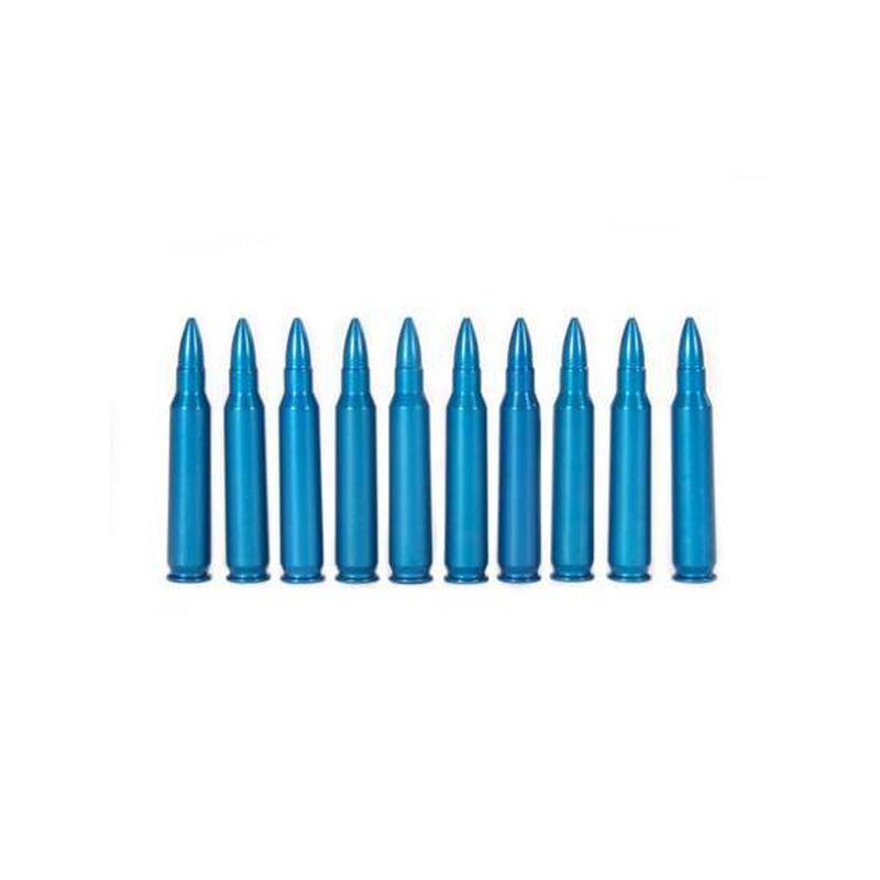 A-Zoom .223 Remington Caliber Snap Caps Aluminum Blue 10 Pack