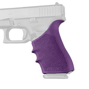 Hogue HandAll Beavertail Grip Sleeve Fits GLOCK 17/22/34 Gen 3-4 Purple