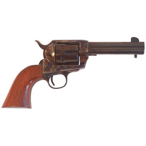"Cimarron SA Frontier Old Model .44-40 Win Single Action Revolver 4.75"" Barrel 6 Rounds Walnut Grip Case Hardened/Blued Finish"