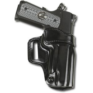 Galco Avenger GLOCK 19, 23, 32 Belt Holster Leather RIght Hand Black AV226B