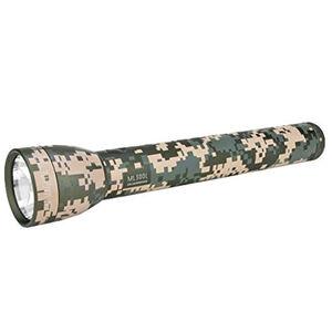MagLite ML300L Flashlight LED 625 Lumens 3 Modes 3 D-Cell Battery Aluminum Matte Finish Universal Camo ML300L-S3MR5