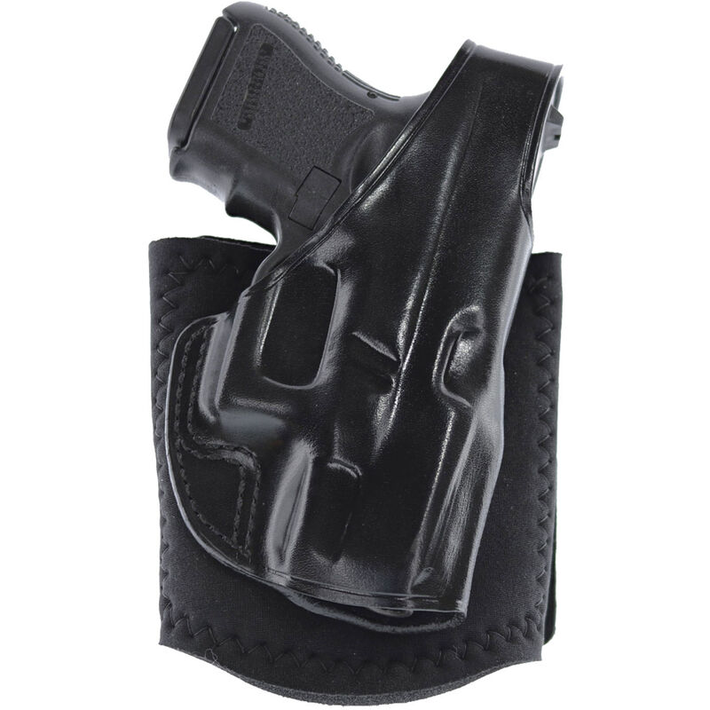 Galco Ankle Glove GLOCK 26/27/33 Ankle Holster Right Hand Black