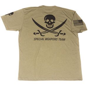 Spike's Tactical Throwback Special Weapons Team Men's Short Sleeve T-Shirt 2XL Military Green