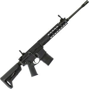 "Barrett REC7 Flyweight AR-15 Semi Auto Rifle 5.56 NATO 16"" Barrel 20 Round Magazine Gas Piston System Enhanced M-LOK Hand Guard 6-Position Stock Cerakote Black Finish"