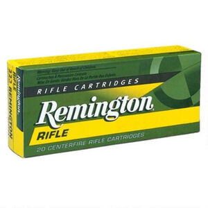 Remington .243 Winchester Ammunition 20 Rounds Core-Lokt PSP 100 Grains