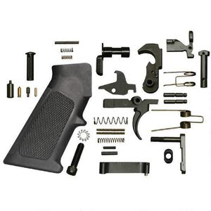 Bushmaster AR-15 Lower Parts Kit Mil Spec Black 93384