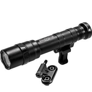 SureFire M640DF Dual Fuel Scout Light Pro Weaponlight LED 1500 Lumen LPM Mount for M-Lok & Picatinny Rail Rechargeable SF18650B or 123A Batteries Aluminum Black