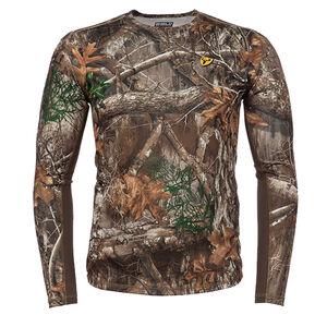 Blocker Outdoors Angatec Performance Long Sleeve Shirt Moisture Wicking Polyester Realtree Edge Camo