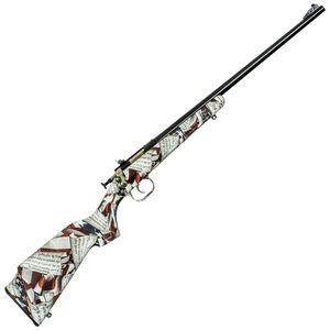 "Keystone Arms Crickett Amendment Single Shot Bolt Action Rimfire Rifle .22 LR 16.125"" Barrel 2nd Amendment Stock Blued"