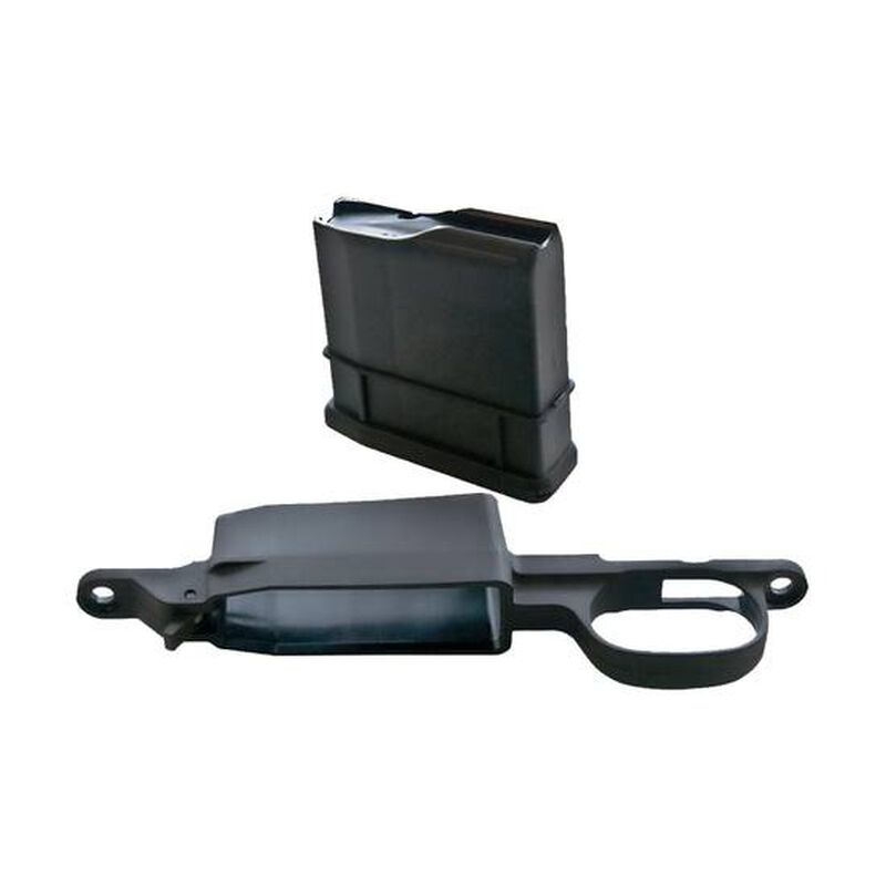 Legacy Sports International AmmoBoost Remington 700 Detachable Magazine Conversion Kit .270 Win/.25-06 Rem/.30-06 Spring 5 Round Magazine with Floor Plate Polymer Black