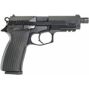 "Bersa TPR 9mm Luger Semi Auto Pistol 4.96"" Threaded Barrel 17 Rounds Alloy Frame Polymer Grips Matte Black"