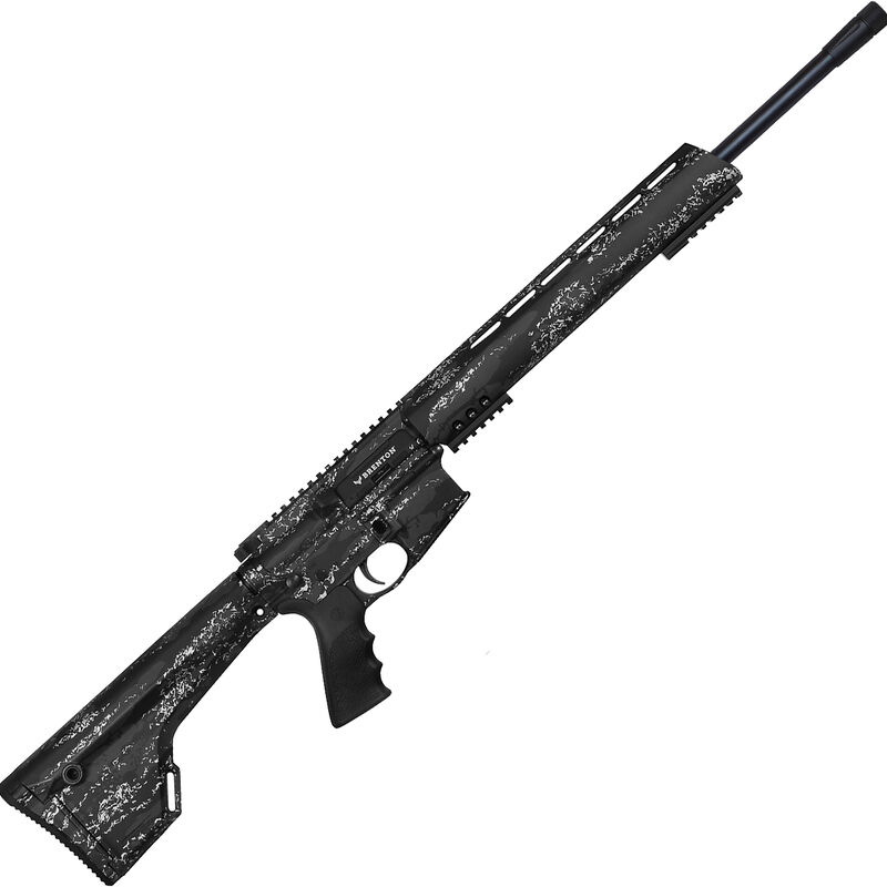 "Brenton USA Ranger Carbon Hunter 6.5 Grendel AR-15 Semi Auto Rifle 22"" Barrel 5 Rounds Free Float Handguard Fixed Stock Midnight Camo Finish"