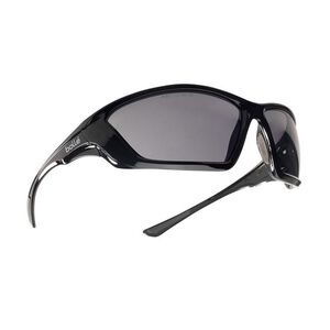 Bolle SWAT Smoke Polarized Tactical Glasses Black Frames