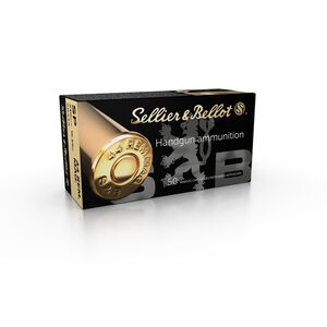 Sellier & Bellot .44 Magnum Ammunition 50 Rounds SP 240 Grains SB44A
