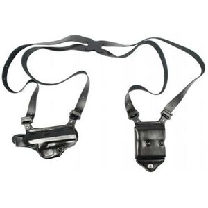 Galco Miami Classic II Shoulder Holster for Springfield XD XDm 9 and 40 Right Hand Leather Black