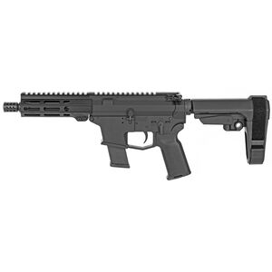 "Angstadt Arms UDP-45 .45 ACP AR Style Semi Auto Pistol 6"" Barrel 13 Rounds Uses GLOCK Style Magazines Free Float M-LOK Hand Guard SBA3 Pistol Brace Black"