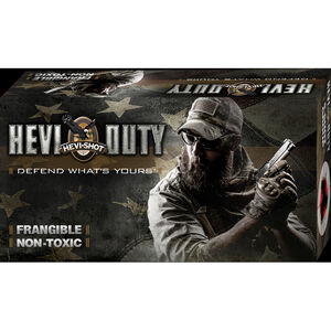 Hevi-Shot Hevi-Duty 9mm Luger Ammunition 50 Rounds 100 Grain Lead Free Frangible 1200fps