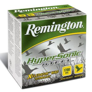 "Remington HyperSonic 12 Ga 3.5"" BB Steel 1.375oz 25 rds"