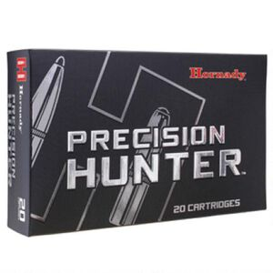 Hornady Precision Hunter 6.5 Creedmoor Ammunition 20 Rounds ELD-X 143 Grains 81499