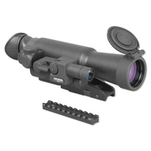 Firefield NVRS 3x42 Gen 1 Night Vision Riflescope Illuminated Red Reticle Titanium Body Black FF16001