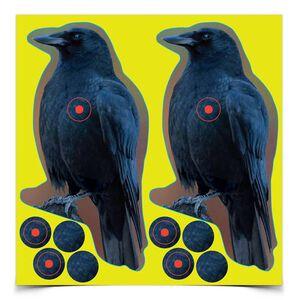 "Birchwood Casey Shoot-N-C Target 8"" Crow 12 Pack 34787"