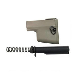 Troy Industries AR-15 BattleAx CQB Complete Stock Kit Tan