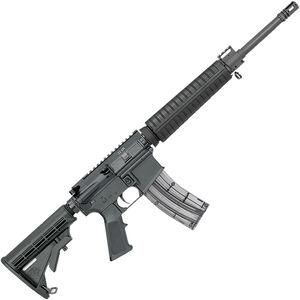 "Rock River LAR-22 Mid A4 .22 LR AR Platform Semi Auto Rimfire Rifle 16"" Barrel 25 Rounds Polymer Receivers Collapsible Stock Black Finish"