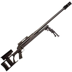 "ArmaLite AR-50A1 Single Shot Bolt Action Rifle .50 BMG 30"" Barrel Three Section Stock 15 MOA Scope Base Bipod Included Matte Black"
