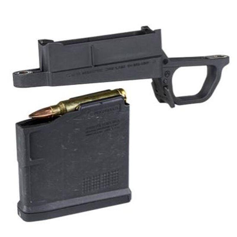 Magpul Hunter Stock Magazine Well Kit Remington 700 Long Action Magnum 5  Round AICS Style Magazine Matte Black MAG569-BLK