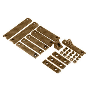 Knights Armament Company URX 3.1 Deluxe Rail Panel Kit Polymer Flat Dark Earth 30409-FDE