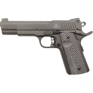 "Rock Island Armory XT 22 Magnum Target .22 WMR 1911 Style Semi Auto Rimfire Pistol 5"" Barrel 14 Rounds Synthetic G10 Grips Black Finish"