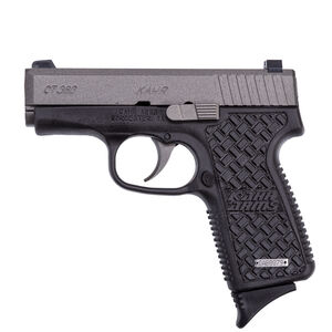 "Kahr Arms CT380 Semi Auto Pistol .380 ACP 3"" Barrel 7 Rounds Matte Black Stainless Steel Slide Textured Polymer Frame Basket Weave Texture Matte Black Finish"