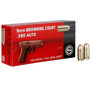 GECO .380 ACP Ammunition 50 Rounds 95 Grain Full Metal Jacket