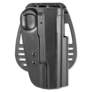 Uncle Mike's Paddle Holster 1911 Government/Commander Right Hand Kydex Black 54191