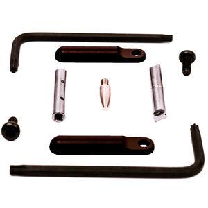 KNS Precision AR-15 Non-Rotating Gen G Trigger/Hammer Pins Steel Black NRTHP Gen G-BK