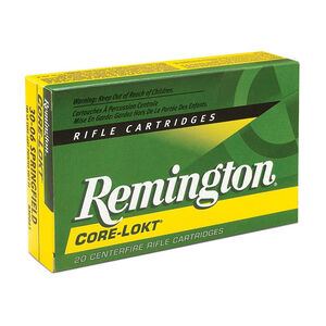 Remington Express .338 Remington Ultra Magnum Ammunition 20 Rounds 250 Grain Core-Lokt PSP Soft Point Projectile 2860fps