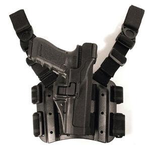 BLACKHAWK! SERPA HK USP Full Size Level 3 Tactical Holster Right Hand Polymer Black 430614BK-R