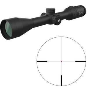 "GPO Passion 3x 3-9x40i Riflescope Illuminated German #4 Reticle 1"" Tube .25 MOA Adjustments Fixed Parallax Black"
