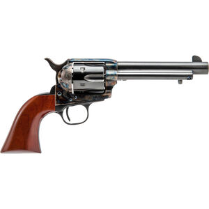 "Cimarron Model P Single Action Revolver 45 Colt 5 1/2"" Barrel 6 Rounds Walnut Grips Standard Blue"