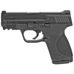 "S&W M&P9 M2.0 Compact 9mm Luger Semi Auto Pistol 3.6"" Barrel 15 Rounds No Manual Safety Armornite Finish Matte Black"