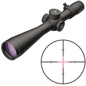 Leupold Mark 5HD 5-25x56 Rifle Scope TMR Illuminated Reticle 35mm Tube 1/10 Mil Adjustments Side Focus Parallax First Focal Plane Matte Black Finish