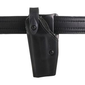 Safariland 6280 SLS Mid-Ride Duty Holster Left Hand Fits GLOCK 17/22 with X300U Hardshell STX Plain Black