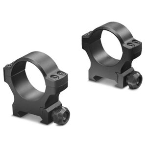 Leupold BackCountry Cross Slot Weaver Style Rings 30mm Tube Diameter Low Height 7075-T6 Aluminum Hard Coat Anodized Finish Matte Black