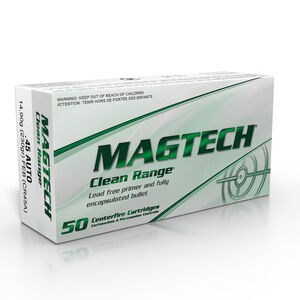 Magtech CleanRange .45 ACP Ammunition 230 Grain TMJ 837 fps