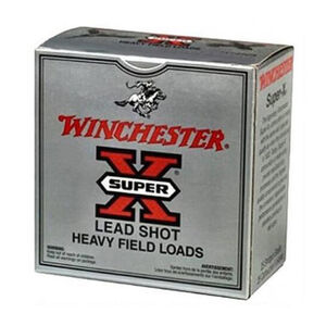 "Winchester Super-X Heavy Game 20 Gauge Ammunition 250 Rounds 2-3/4"" #7.5 Lead 1 oz 1165fps"
