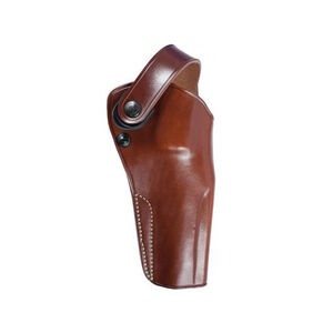 """Galco DAO Belt Holster Left Hand Fits Colt Python with 6"""" Barrel Leather Tan"""