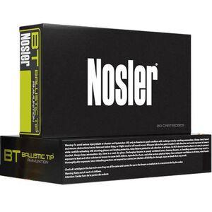 Nosler Ballistic Tip .270 Win Ammunition 20 Rounds 140 Grain BT Bullet 2900 FPS